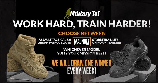 Short Stack, Magnum Boots Giveaway