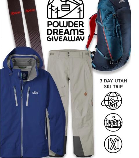 Stio Powder Dreams Giveaway