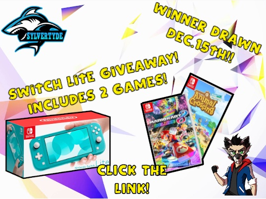Switch Lite With Games Giveaway