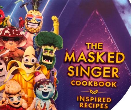 Masked Singer Cookbook Giveaway