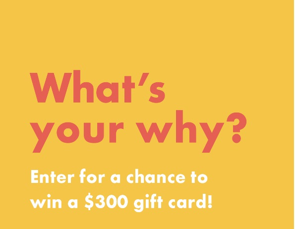 Nutrisystem What Your Why $300 Giveaway
