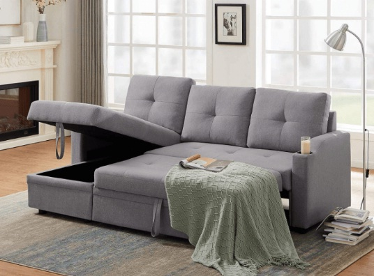 Pull-Out Sectional Sofa Giveaway