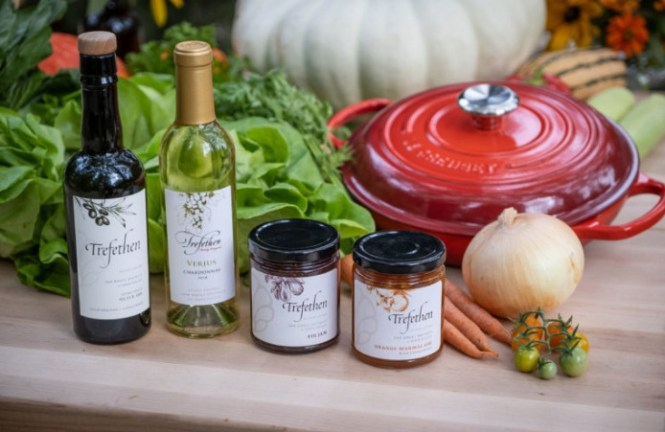 Trefethen Family Vineyards Wine Country Pantry Gift Basket Sweepstakes