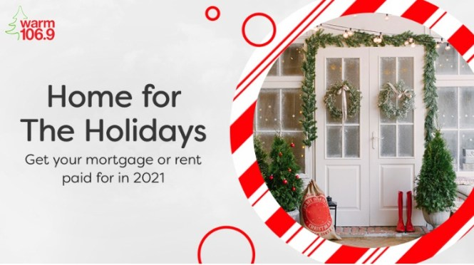 Warm 106.9 Home For The Holidays Contest