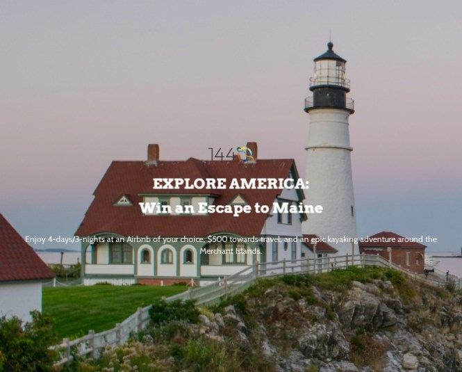 1440 Media 1440 Win An Escape To Maine Giveaway