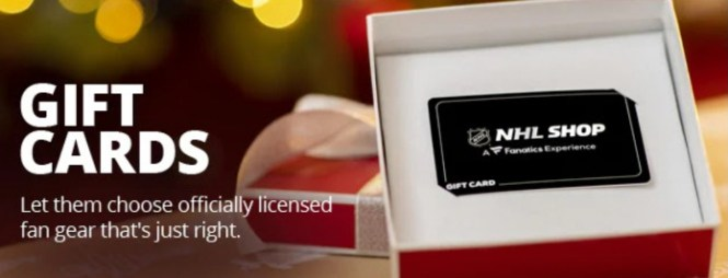 Redemption NHLC Gift Card Sweepstakes
