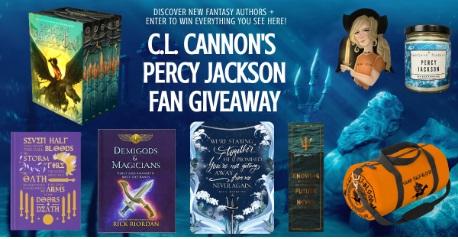 C.L. Cannon Percy Jackson Fan Giveaway