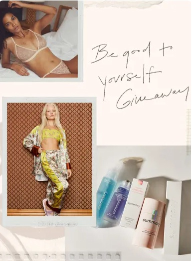 Free People Presents The Be Good To Yourself Giveaway
