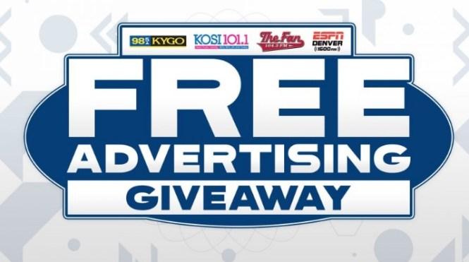 Bonneville Denver Advertising Giveaway