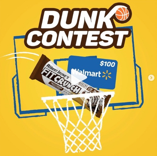 FitCrunch Dunk Sweepstakes