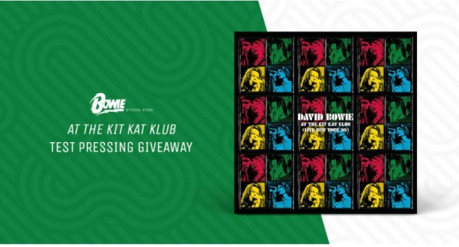 Musictoday Bowie At The Kit Kat Klub Test Pressing Giveaway