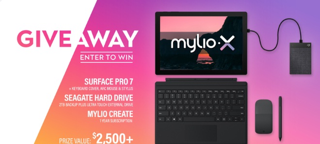 Mylio New Surface Pro 7 Giveaway