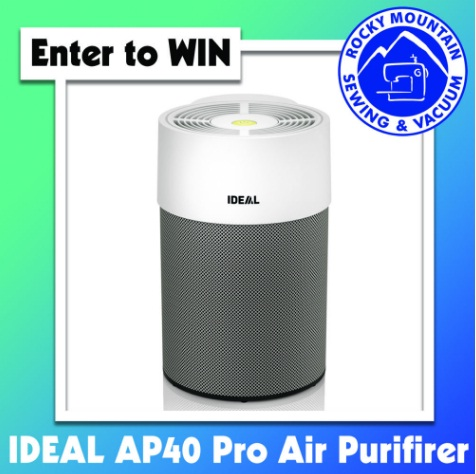 Rocky Mountain Sewing And Vacuum Air Purifier Giveaway