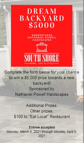 Second Street Media South Shore Home Backyard Sweepstakes