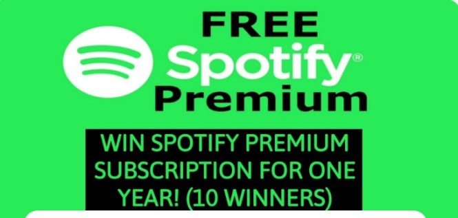 Troy Bronson Spotify PREMIUM Subscription Giveaway