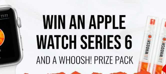 WHOOSH Whoosh Apple Watch Giveaway
