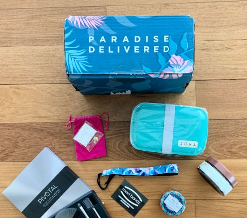 Erica Finds Paradise Delivered Box Giveaway