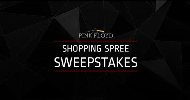 Musictoday Pink Floyd Shopping Spree Sweepstakes