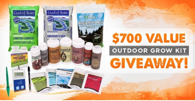 Outdoor Grow Kit Giveaway