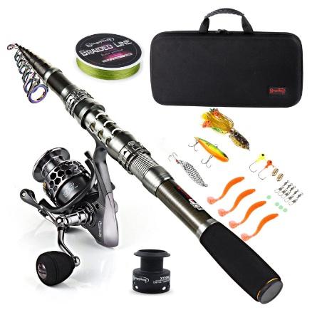 Steamy Kitchen Fishing Rod Set Giveaway