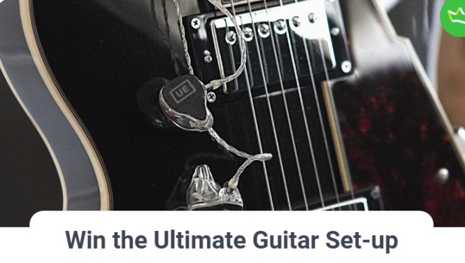 Ultimate Ears Win The Ultimate Guitar Set-up Giveaway