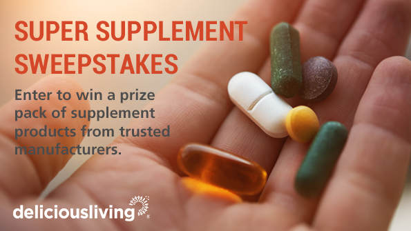 2018 Super Supplement Sweepstakes