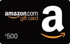 $500 Amazon e-Gift Card