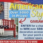 Americana Style Giveaway – Win $860.23 Prizes