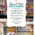 Boarding House Getaway Sweepstakes – Win $2,600 Trip