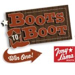 Boots to Boot Sweepstakes – Win $200 Pair Of Boots