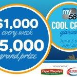 Cool Cash Giveaway – Win $5,000 Check