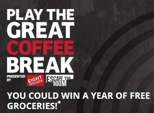 Great Coffee Break Sweepstakes