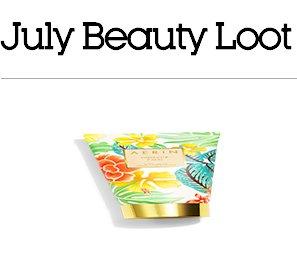 July Beauty Loot Sweepstakes