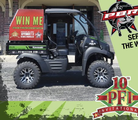 Kawasaki 4x4 Special Edition Mule Sweepstakes