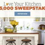 Win $25000 check – Kitchen Refresh Sweepstakes
