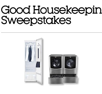 Laundry Room Makeover Sweepstakes