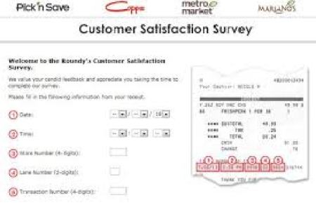 Marianos Customer Satisfaction Survey
