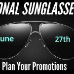 National Sunglasses Day Sweepstakes – Win $350 Eyeglass World Voucher