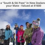 South & Ski Pass In New Zealand Sweepstakes – Win $1600 Pass