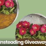 Summer Garden And Planter Set Giveaway – Win $150 Gardening kit