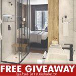 Symmons Matte Black Giveaway – Win $900 Prizes