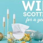 Tissues For A Year Sweepstakes – Win Scotties