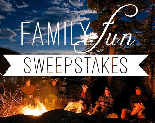 Family Fun Sweepstakes