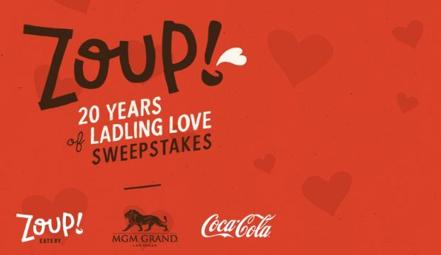 Coca-Cola Zoup 20 Years of Ladling Love Sweepstakes