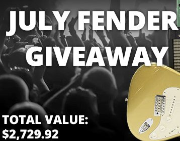 Fender Guitar Rig Giveaway