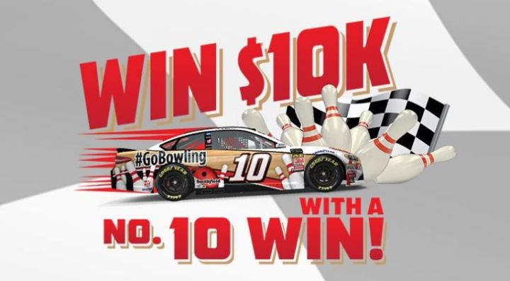 GoBowling Win $10K with a No. 10 Win Sweepstakes