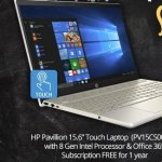 "Laptop for School Sweepstakes – Win $1,399.98 HP Pavillion 15.6"" Touch Laptop"