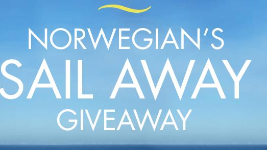 Norwegian Sail Away Giveaway Win 5 000 Norwegian Cruise Line Gift
