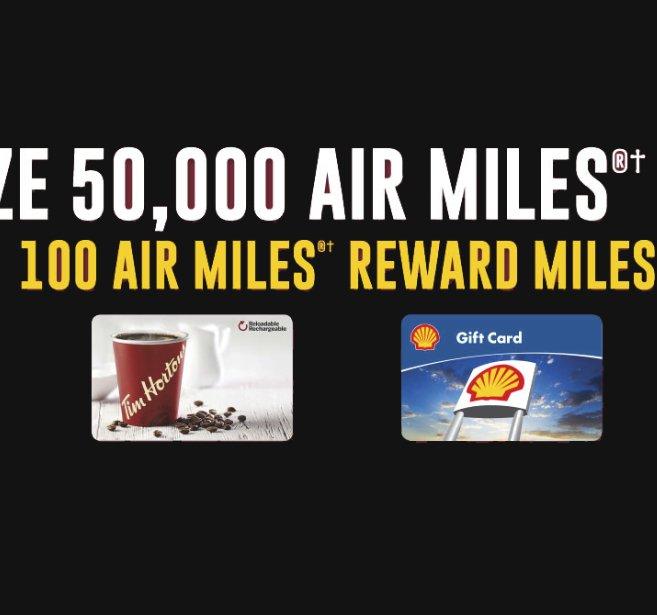 Score a 50,000 Air Miles Bonus