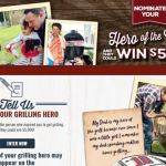 Smithfield Hero of the Grill Instant Win Game & Contest – Win $5,000 Cash